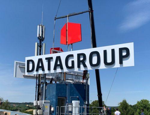 Die Datagroup bekommt eins auf's Dach … sprichwörtlich.